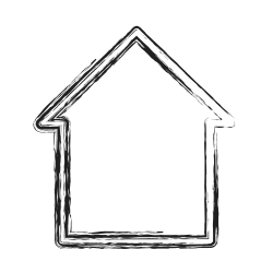 home, shape, productivity, casa, social icon icon
