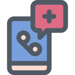 hospital, doctor, call icon icon