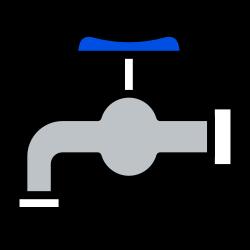 hygiene, spigot, water, faucet, valve icon icon