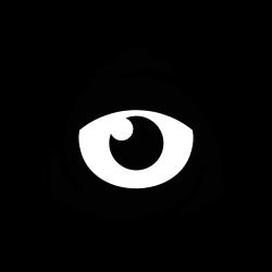 iconfinder icon, square, eye, icon market, internet, iconfinder, iconfinder logo icon icon