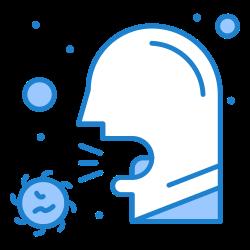 illness, covid, healthcare, cough, sick, sneeze, virus icon icon