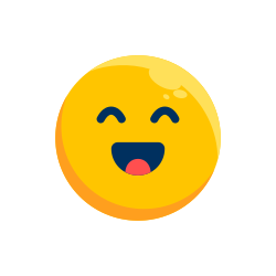 laugh, expression, emoji, emotion, emoticon icon icon