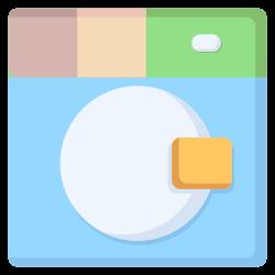 laundry, wind, clothing, washing, clean icon icon