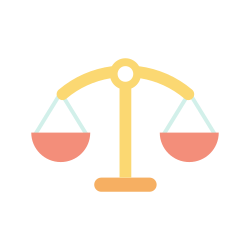 law, justice scale, legal, balance scale, court icon icon