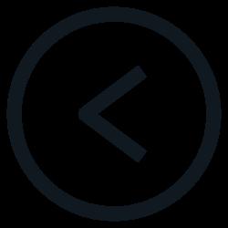left, backward, sign, back, mark icon icon