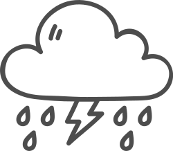 lightening, weather, cloud, storm, thunder icon icon
