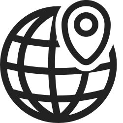 location, map, earth, marker, navigation, gps, globe icon icon
