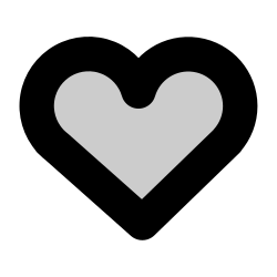 love, like, favorite, heart icon icon