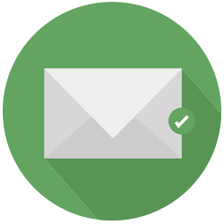 mail, save, file, guardar icon icon