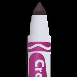 marker, purple marker, marker tip icon icon