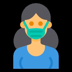 mask, virus, healthcare, coronavirus, covid icon icon