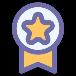 medal, award, badge, emblem icon icon