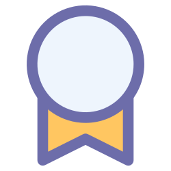 medal, badge, certificate, award icon icon
