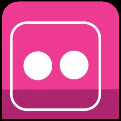 media, icons, flickr, sl, social icon icon