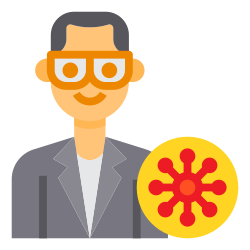 medical, mask, avatar, doctor, coronavirus icon icon