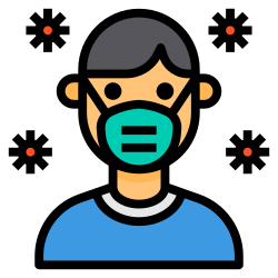 medical, mask, avatar, people, coronavirus, covid icon icon