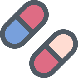 medicine, medical, health, pill icon icon