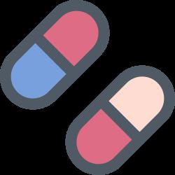 medicine, medical, health, pill icon icon