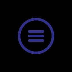 menus, sheet, blue, file, document icon icon