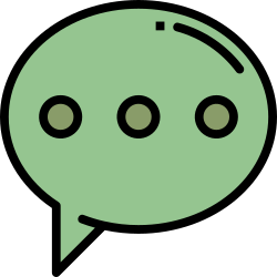 message, application, chat, mobile, smartphone, ui, user interface icon icon