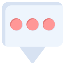 message, communication, comment, bubble, chat icon icon