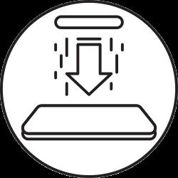 mobile, phone, download, smartphone icon icon
