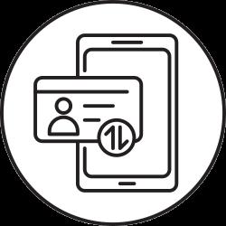 mobile, phone, smartphone, verification icon icon