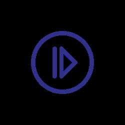 move, forward, next, arrows, blue icon icon