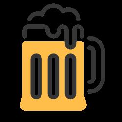 mug, beverage, drink, alcohol, beer, pub icon icon