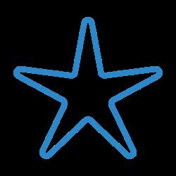 nature, starfish, beach, outdoor, summer icon icon