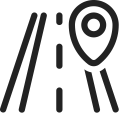 navigation, map, location, marker, gps, road icon icon