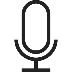 notification, warning, alert, volume, sound, microphone, media icon icon