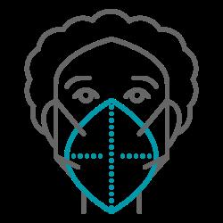 nurse, virus, doctor, mask, health, coronavirus, covid19 icon icon