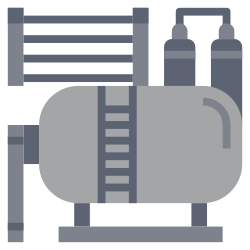 oil, power, electricity, industry, factory, illustration, energy icon icon