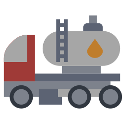 oil, power, industry, factory, illustration, truck, energy icon icon
