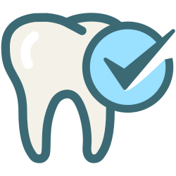 oral hygiene, medical, tooth, dentist, tooth check, dentistry, dental care icon icon