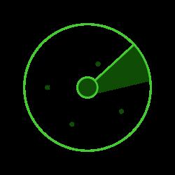 orbit, space, radar icon icon