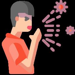 pacient, illness, cough, sneeze, man, sickness, handkerchief icon icon