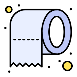 paper, cleaning, safety, tissue icon icon