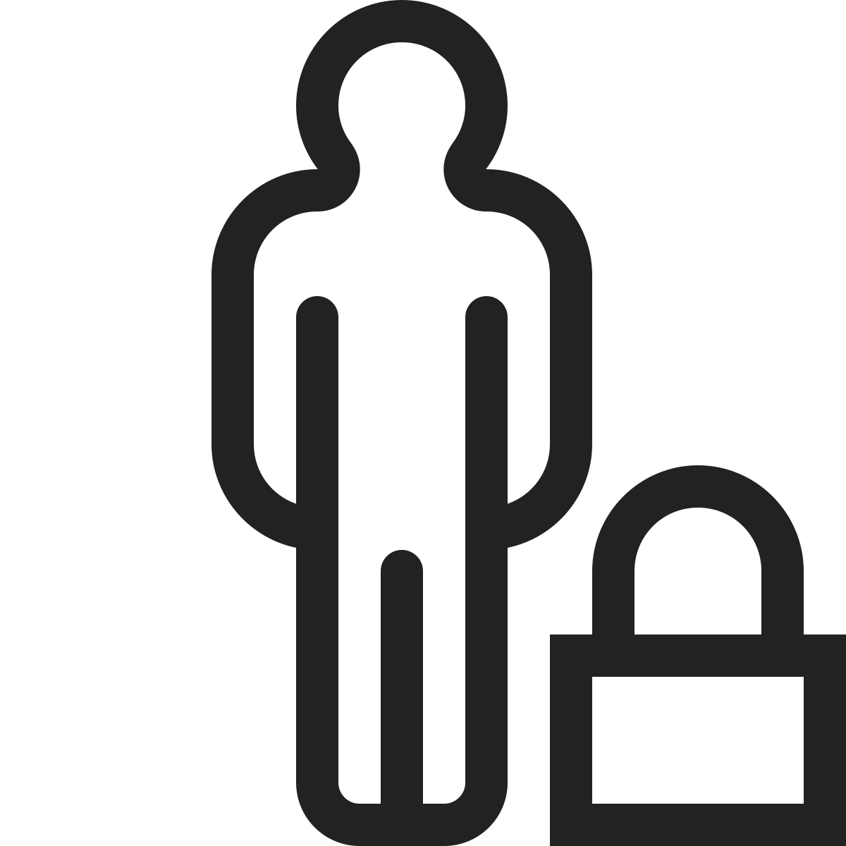 people  group  user  profile  lock  person icon icon