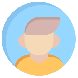 person, man, user, avatar, human icon icon