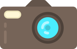 photography, camera, hipster, free, on trend icon icon