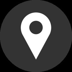 pin marker, gps, location icon icon