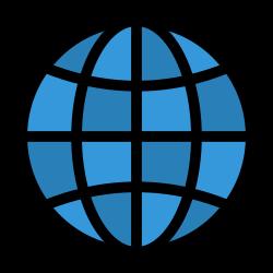 pin, worldwide, globe, location, world icon icon