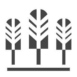 plant, public, elements, city, trees, town, facilities icon icon