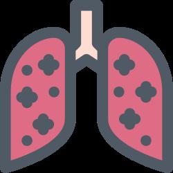 pneumonia, virus, corona, medical, infection icon icon