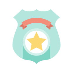 police shield, sheriff badge, police badge, emblem, security badge icon icon