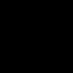 polygon, abstract, eye, geometric, wave icon icon