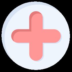 positive, shape, cross, plus, web icon icon
