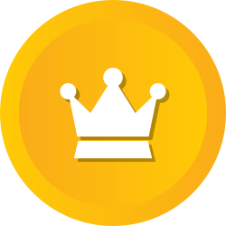 premium, princes, service, crown, winner, royal, optimization icon icon
